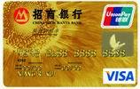 银联单币信用卡金卡visa