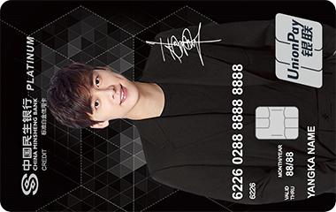 民生峰享标准白金信用卡(记易版)