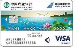 南航明珠联名信用卡(Visa水版金卡)